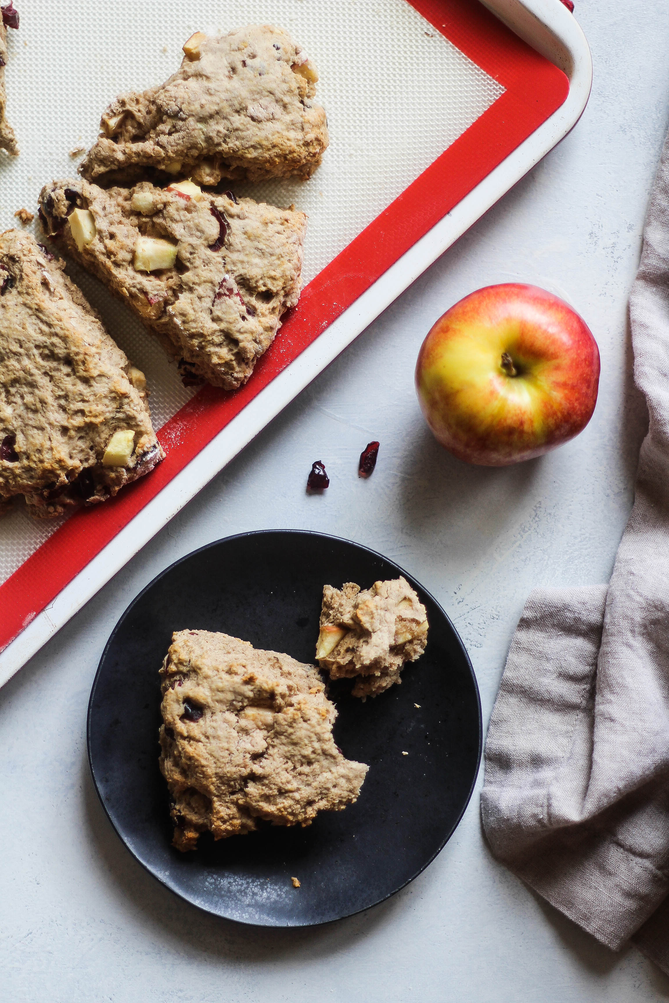 Cranberry Apple Scones
